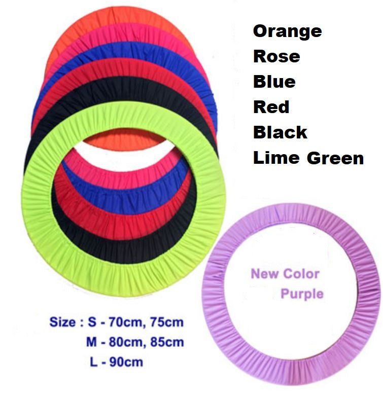 Rhythmic Hoop Cover - (various colours and sizes)