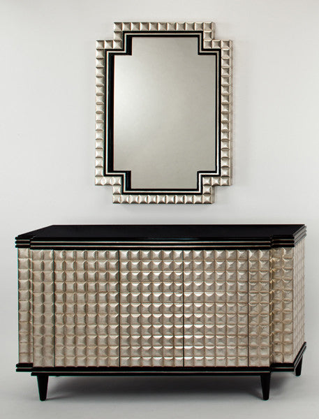 Pewter & Gold Shimmer Mirror