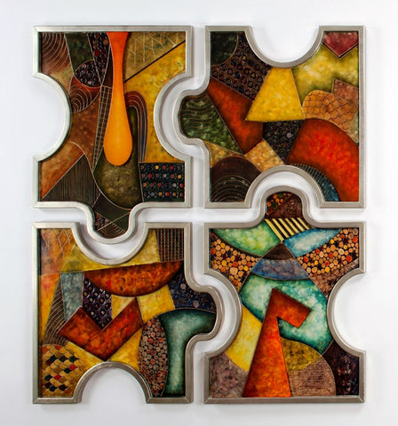 Abstract Puzzles - Set of 4