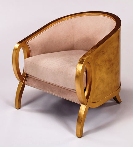 Golden Wood Chair