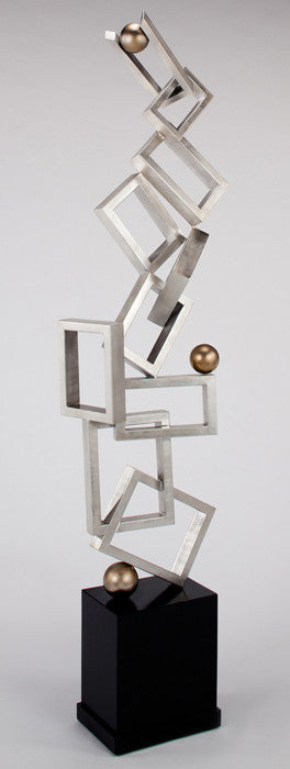 Z -Squares, Rectangles & Balls Sculpture
