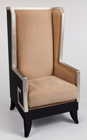 Majestic High-Back Wood Chair