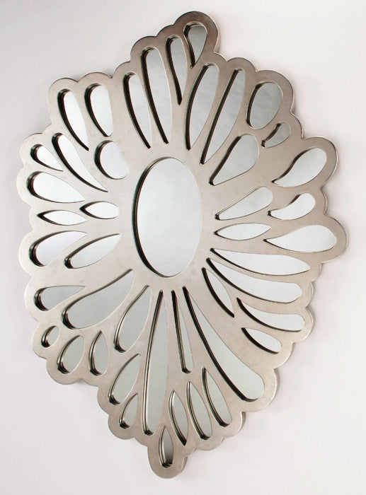 Oval Cutouts Wall Mirror