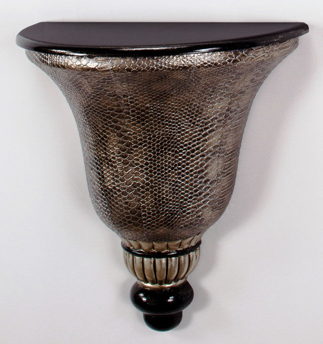 Textured Snakeskin Wall Bracket