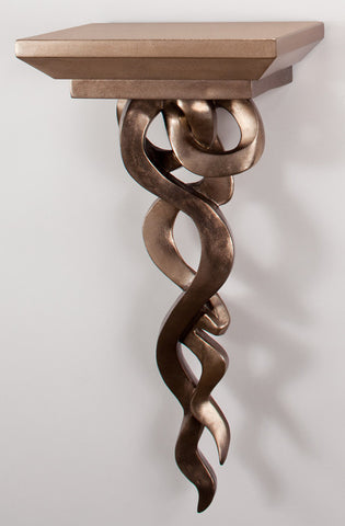 Twisted Bronze Wall Bracket