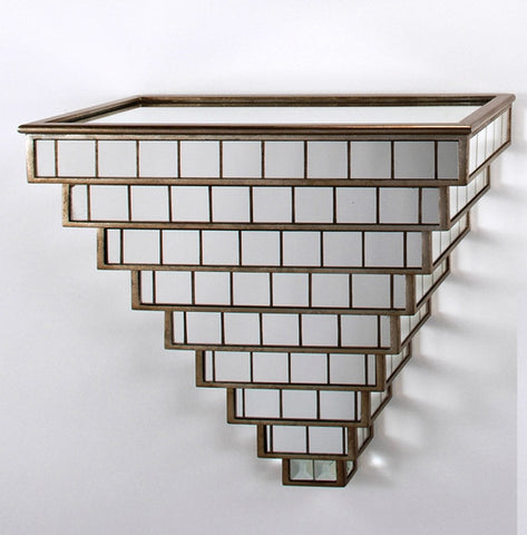 Mirrored Squares Wall Bracket
