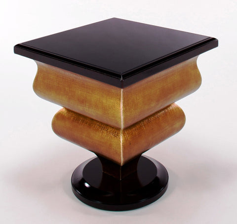 Lacquered Accent Table
