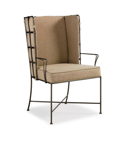 Lattice Back Arm Chair