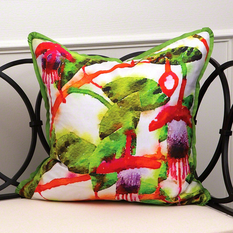 Emma's Fuchsia Pillow