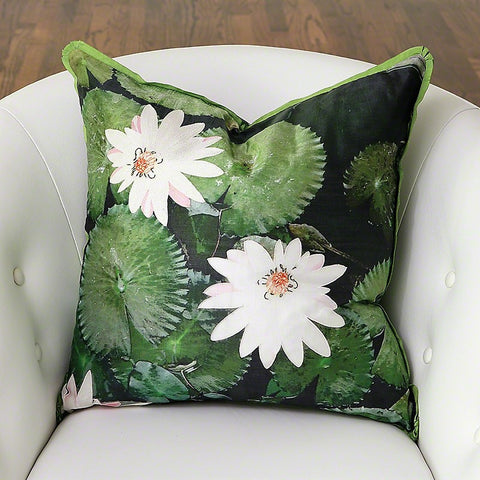 Lily Pad Pillow