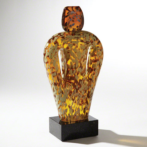 Deep Pockets Glass Sculpture