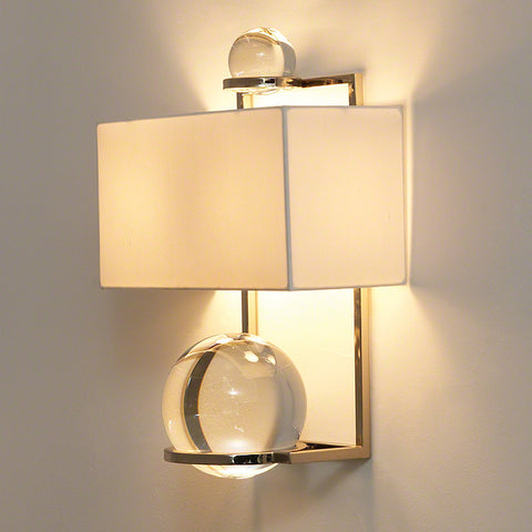 Fortune Teller Sconce-Polished Stainless Steel