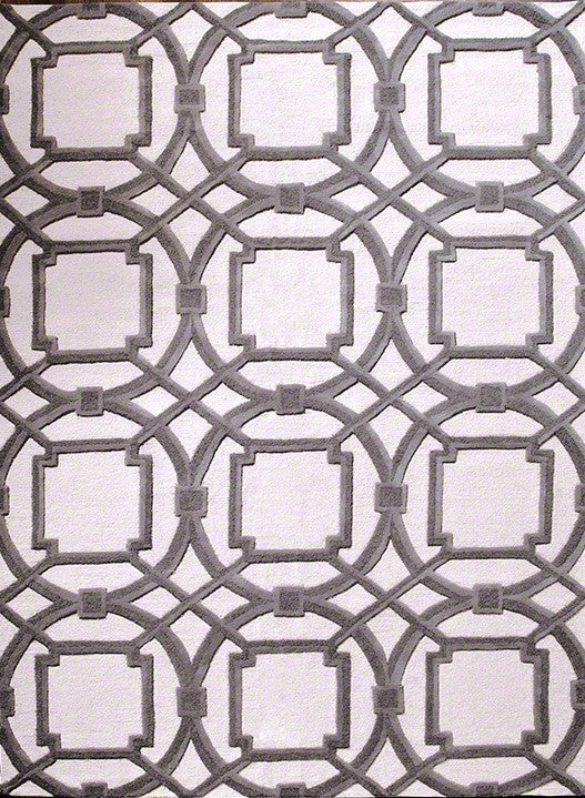 Arabesque Rug - Grey