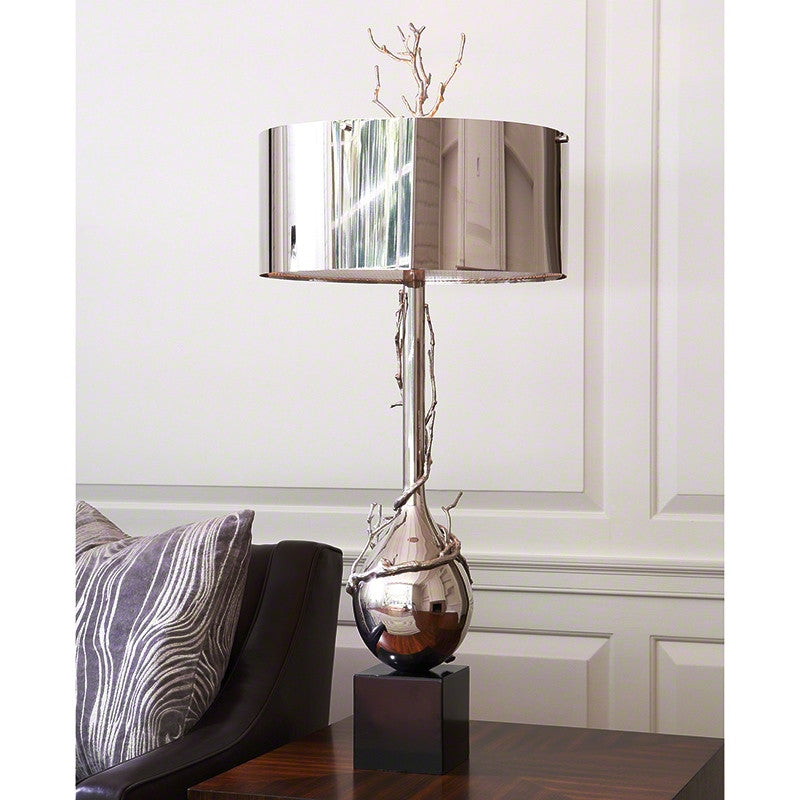 Z - Twig Bulb Lamp-Nickel