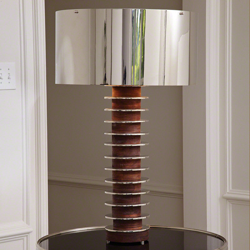 Stacked Plate Lamp
