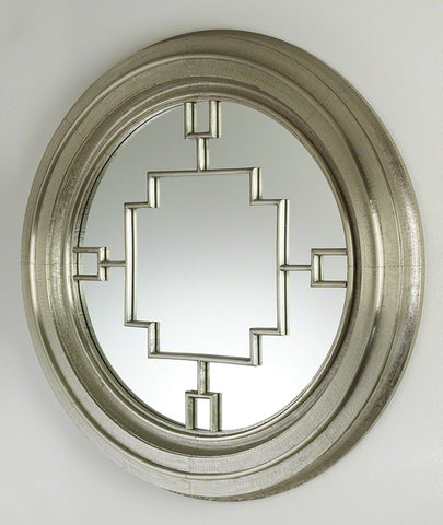 Arabesque Round Mirror