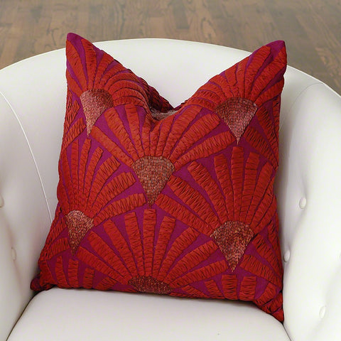 Mimosa Flower Pillow