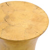 Hourglass Stool/Table - Gold Leaf