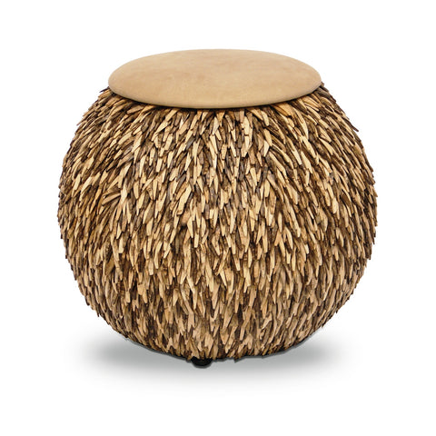 ZZ - Coco Feather Hassock