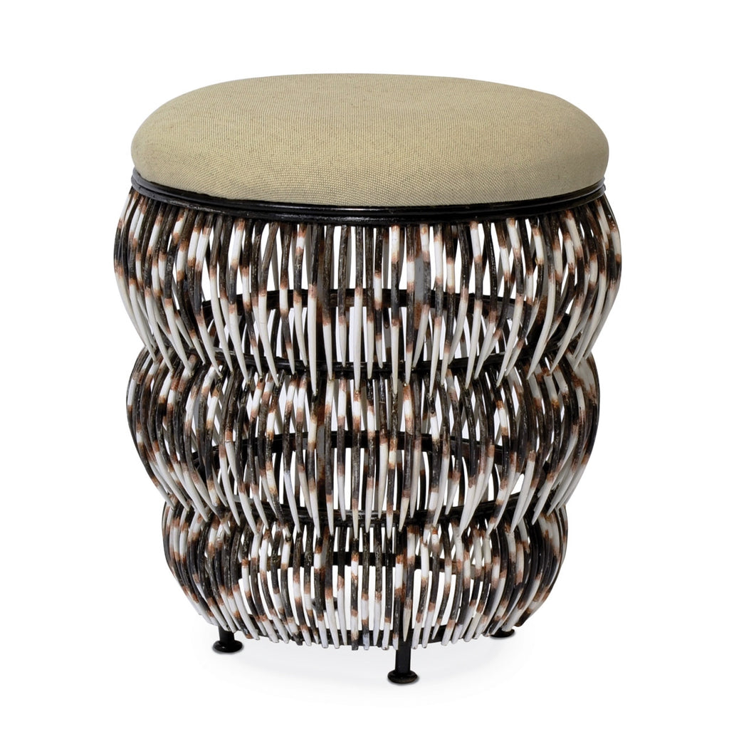Z- Quill Upholstered Hassock
