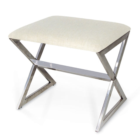 Dover Upholstered Stool