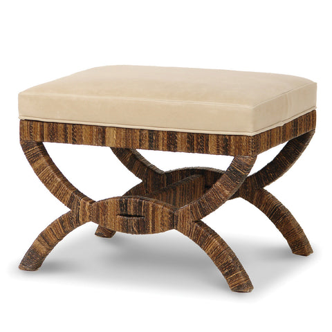 Havana Upholstered Bridge Stool