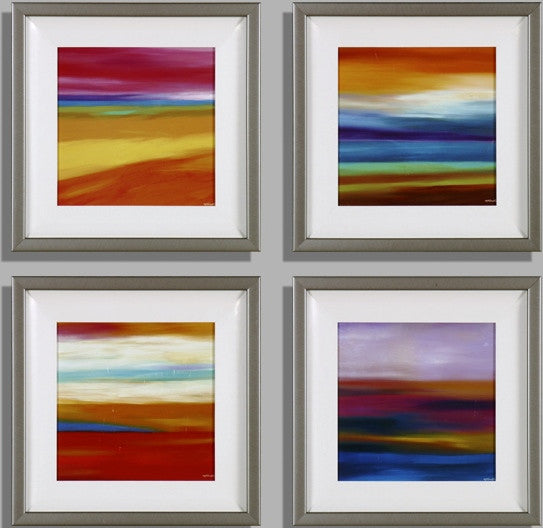 Prarie Abstract 1, 3, 9,10 - (S4)