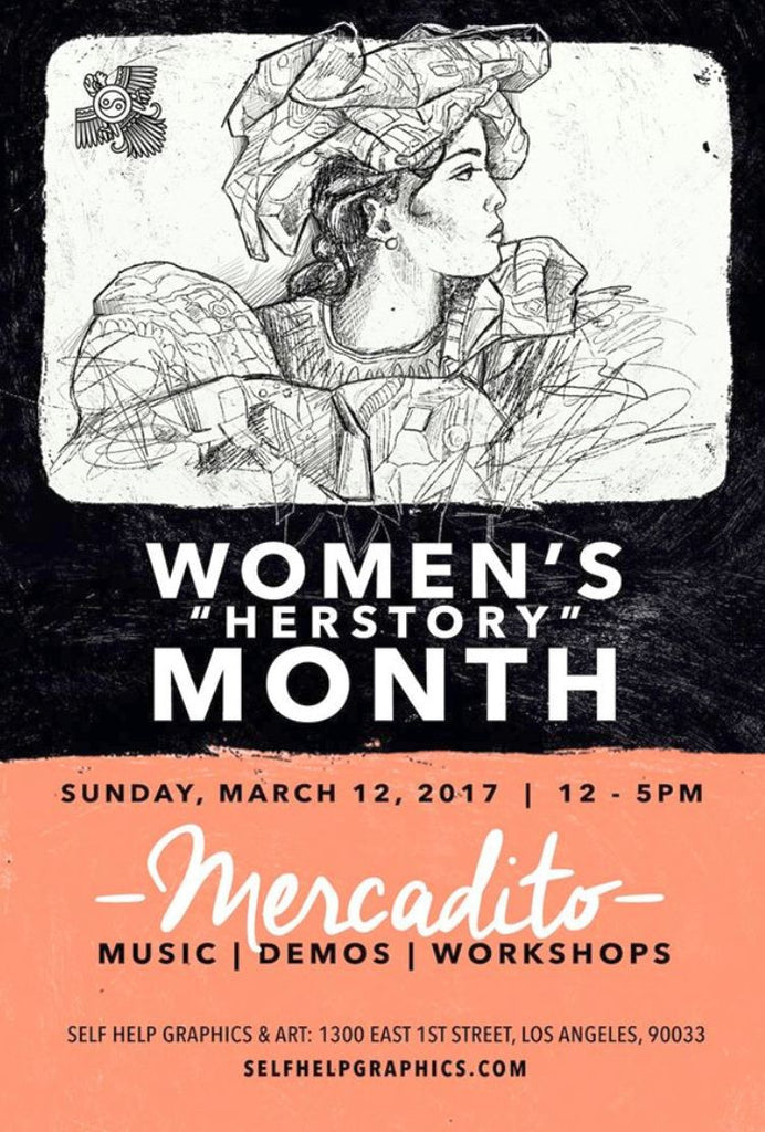 "Women's  ""HERSTORY"" Month Mercardito"