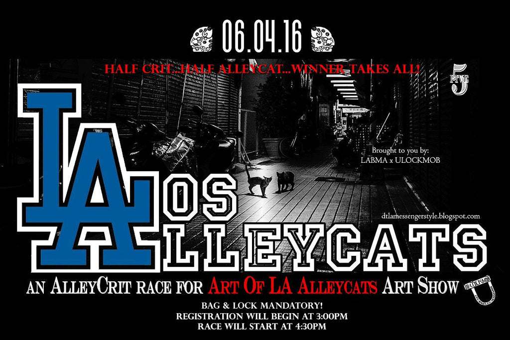"""Art of LA Alleycats"" Art Show and Bike Race"