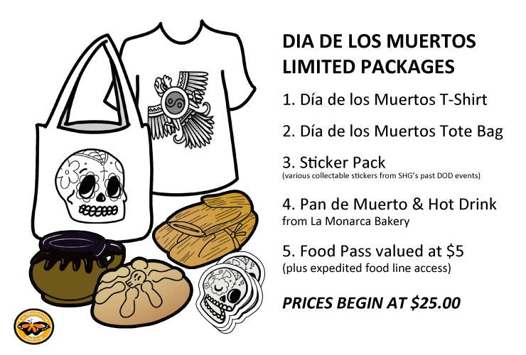 SHG Collectible Dia De Los Muertos Package