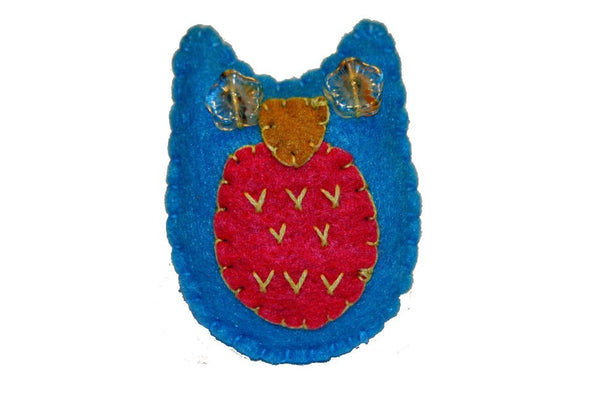 Pin - Owl (Blue)