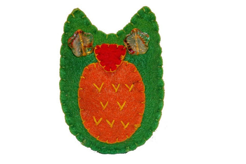 Pin - Owl (Green)