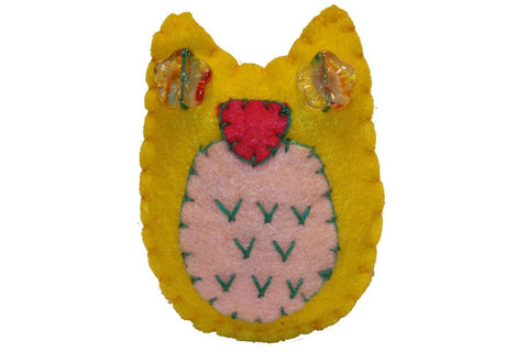 Pin - Owl (Yellow)