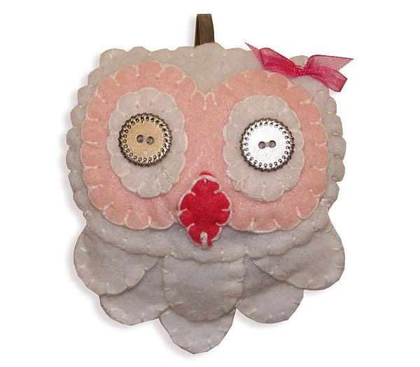 Headband - Owl (White)