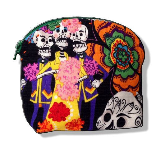 Makeup Bag - Day of the Dead
