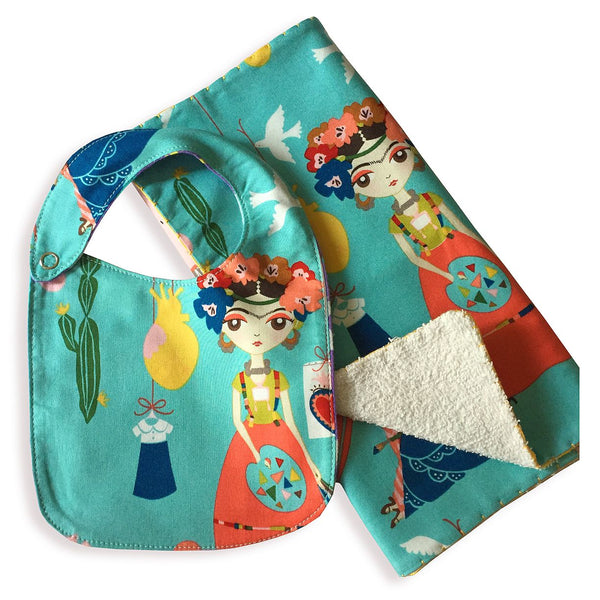 Bib & Burp Cloth - Combo