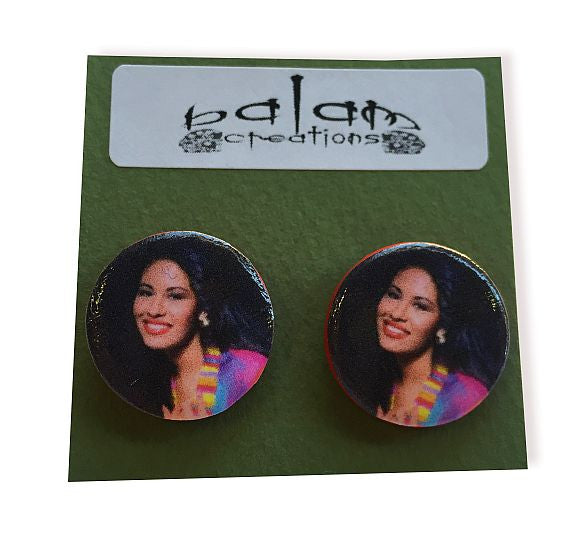 Stud Earrings - Selena