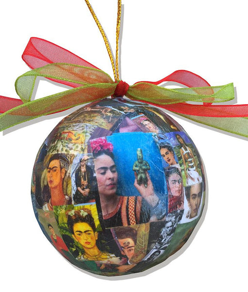 Christmas Ornament - Frida Kahlo