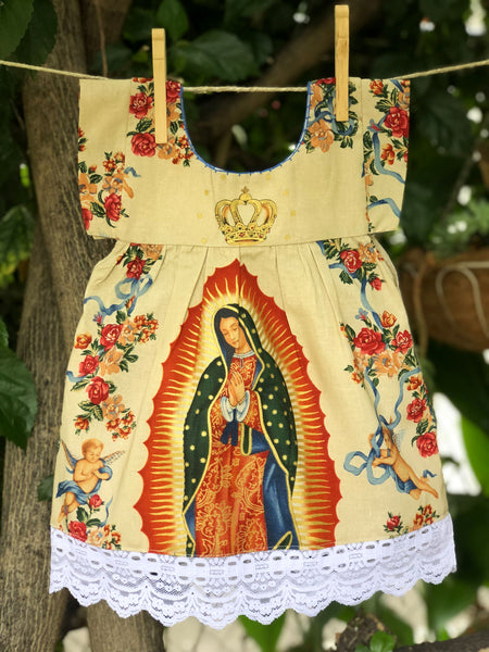 Kids' Dresses (Mexica Style) - La Virgen