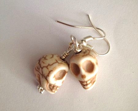 Earrings - Mini Skull