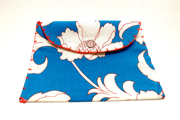 Coin Bag 2020 - White Flowers