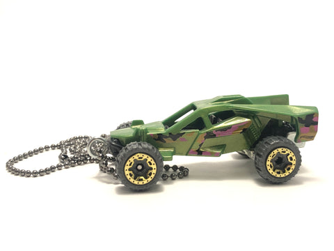Chain Necklace - Hotwheels (Green Machine)