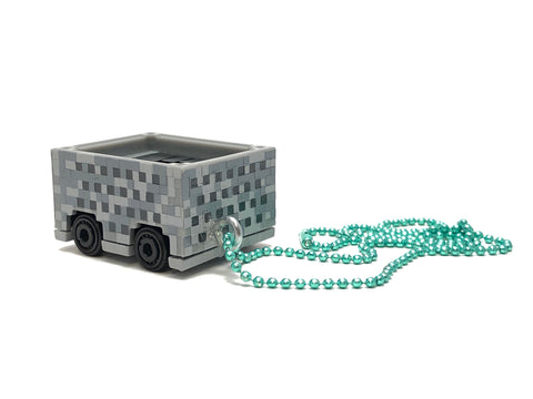 Chain Necklace - Hotwheels (Mine Craft / Mine Cart)