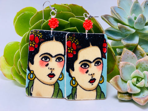 Earrings - Frida (lagrima)