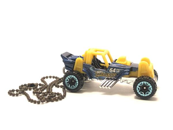 Chain Necklace - Hotwheels (Mountain Mauller - BLUE)