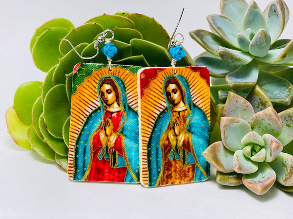 Earrings - La Virgen