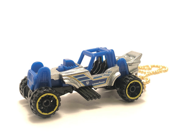 Chain Necklace - Hotwheels (Mountain Mauller - ZAMAC)
