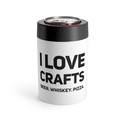 I Love Crafts Beer Can Holder - Luv the Paw