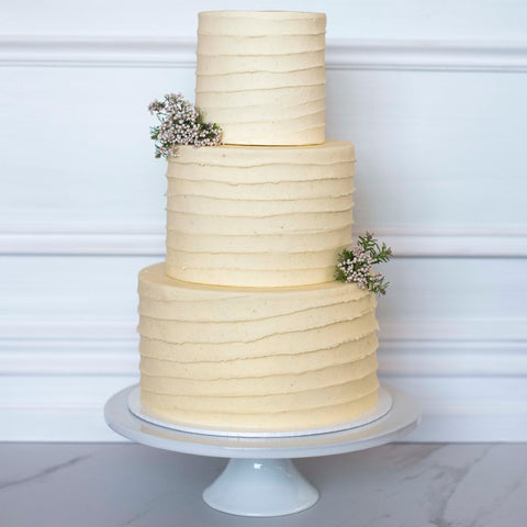 Lined Style Cake