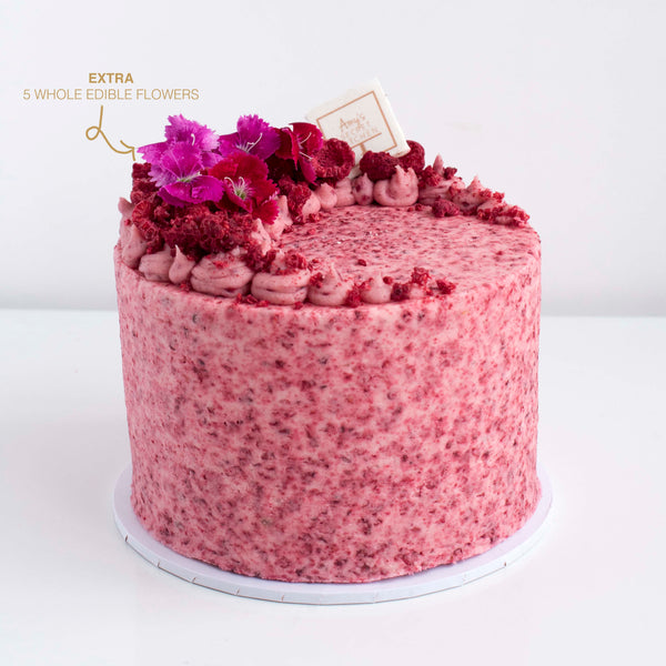 Berry Infused Cake